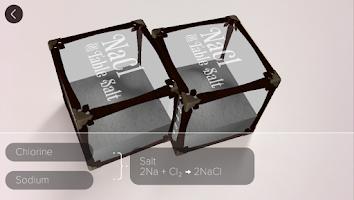 Screenshot of Elements 4D by DAQRI
