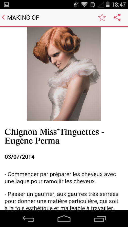 Coiffure de Paris - Android Apps on Google Play