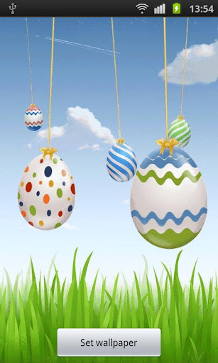 Easter Live Eggs Wallpaper PRO