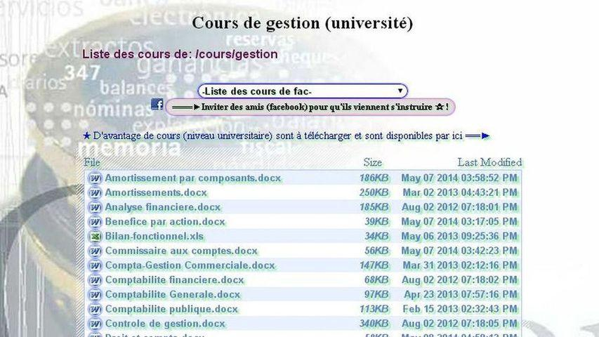 Université 2.0. – Capture d'écran