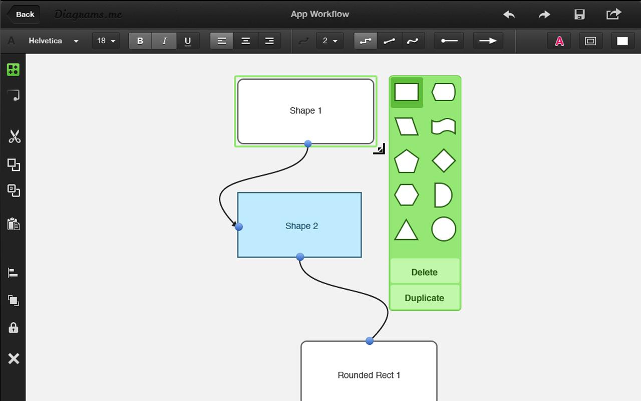 Diagrams.me Pro - screenshot