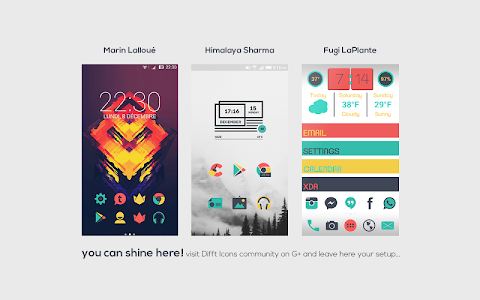 Difft - Icon Pack v1.2.1