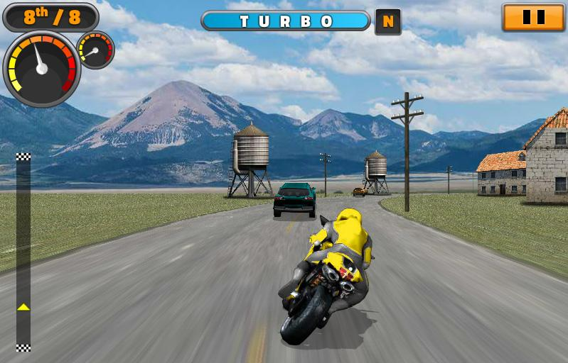 Sports Bike Challenge- screenshot