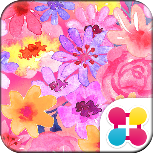 Watercolor Flowers Wallpaper Icon