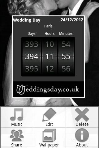 Wedding Countdown- screenshot