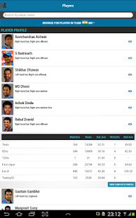 The ESPNcricinfo Cricket App - screenshot thumbnail