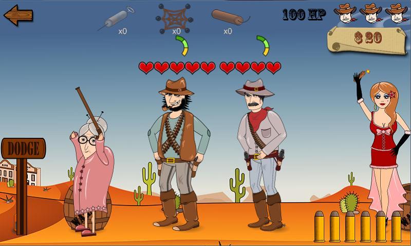 Wild Johnson's Revenge - screenshot