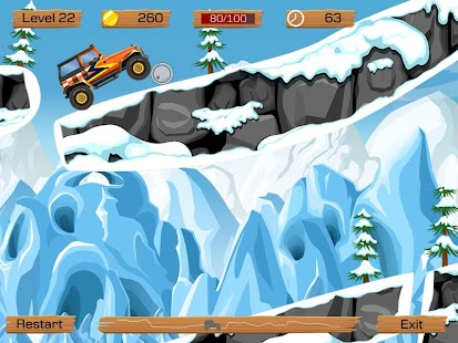 Snow Off Road - screenshot thumbnail