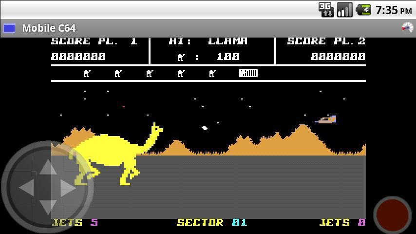 Mobile C64- screenshot