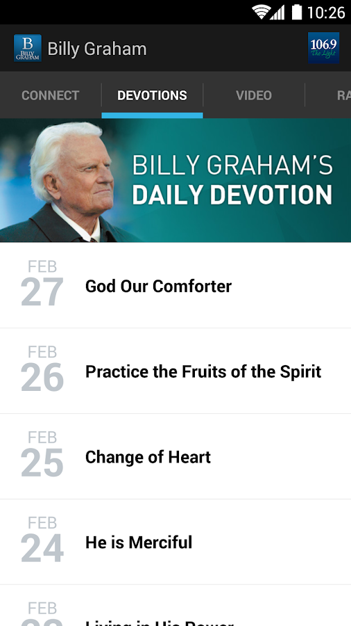 Billy Graham- screenshot