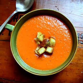 Slow Roasted Tomato Soup.