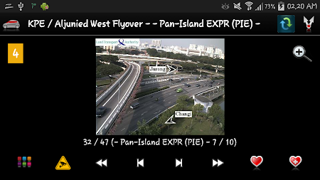 Cameras Singapore - Traffic 5.9.7 screenshot 1264661