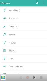 TuneIn Radio Pro Screenshot 2