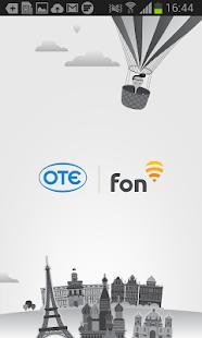 OTE Fon- screenshot thumbnail