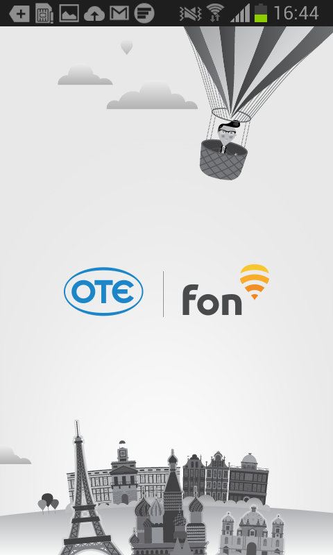 OTE Fon - screenshot