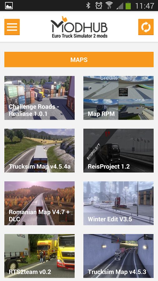 Euro truck simulator 2 mods - Android Apps on Google Play