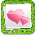 SweetShot- photo sharing app icon