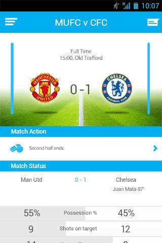 Barclays Football- screenshot