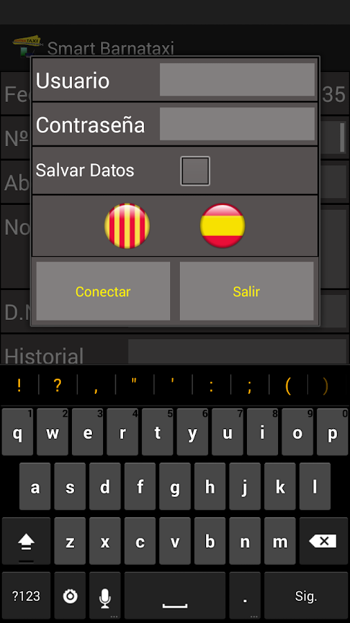 Central de Reservas - Recibos- screenshot