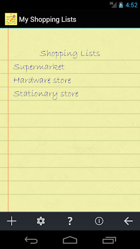 My Shopping Lists 1.1.3