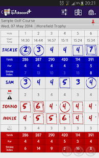 Golf Quickscore+- screenshot thumbnail