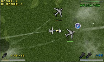 Screenshot of Aerial Hunt Demo