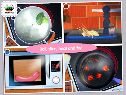 App Toca Kitchen APK for Windows Phone