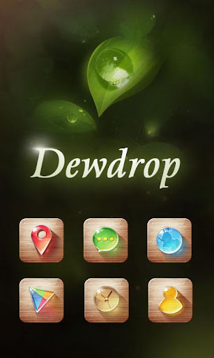 Dewdrop GO Launcher Theme