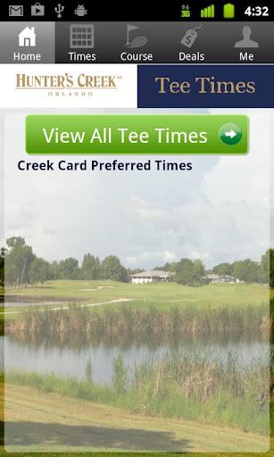 Hunter's Creek Tee Times