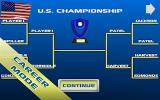 Screenshot of Cross Court Tennis