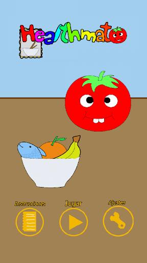 Healthmato: tomate feliz