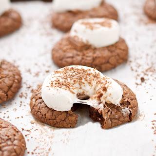 Hot Cocoa Cookies.