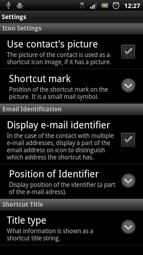 Mail Linker - screenshot