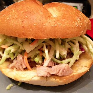 Asian Pulled Pork Sandwiches with Sesame Apple Slaw