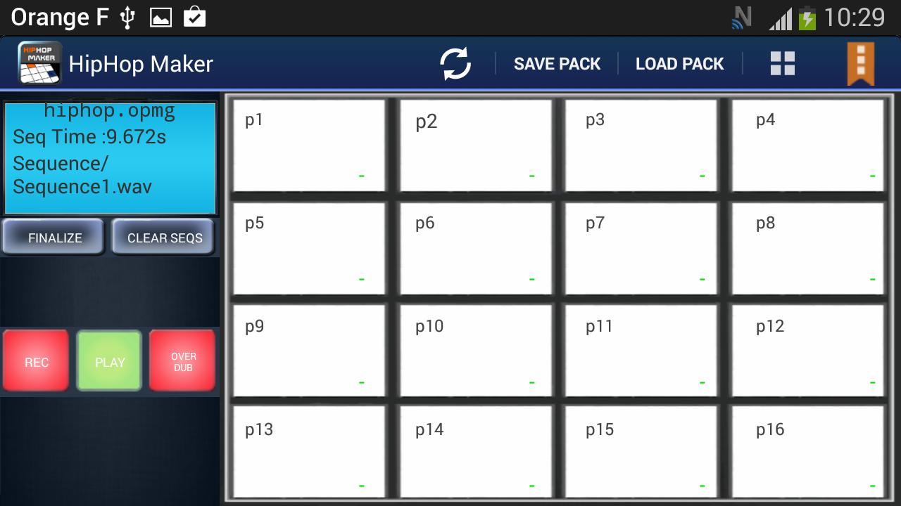 Hiphop Maker Lite - screenshot