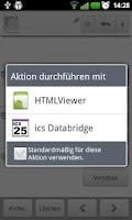 Screenshot of ics Databridge