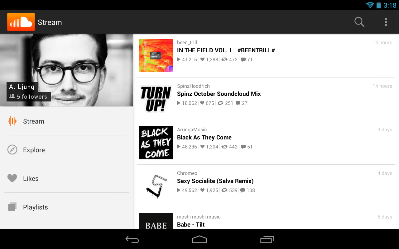 SoundCloud - Music & Audio - screenshot