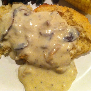Creamy Country Mushroom Gravy.
