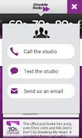 Screenshot of Absolute Radio TV App Remote