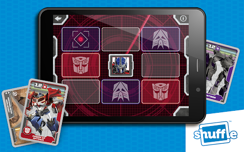 TransformersCards by Shuffle- screenshot thumbnail