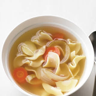 Simple Chicken Noodle Soup.