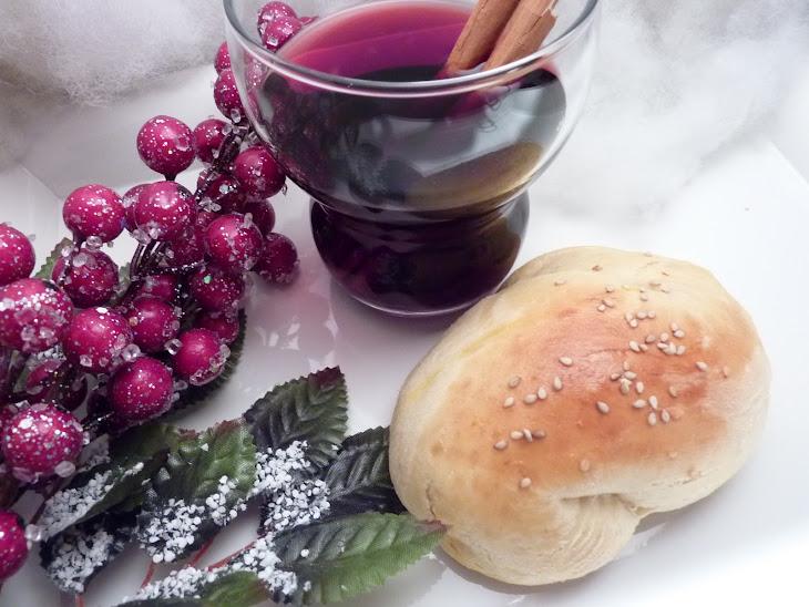 Saffron Buns with Spiced Wine (Bread Maker Recipe) Recipe