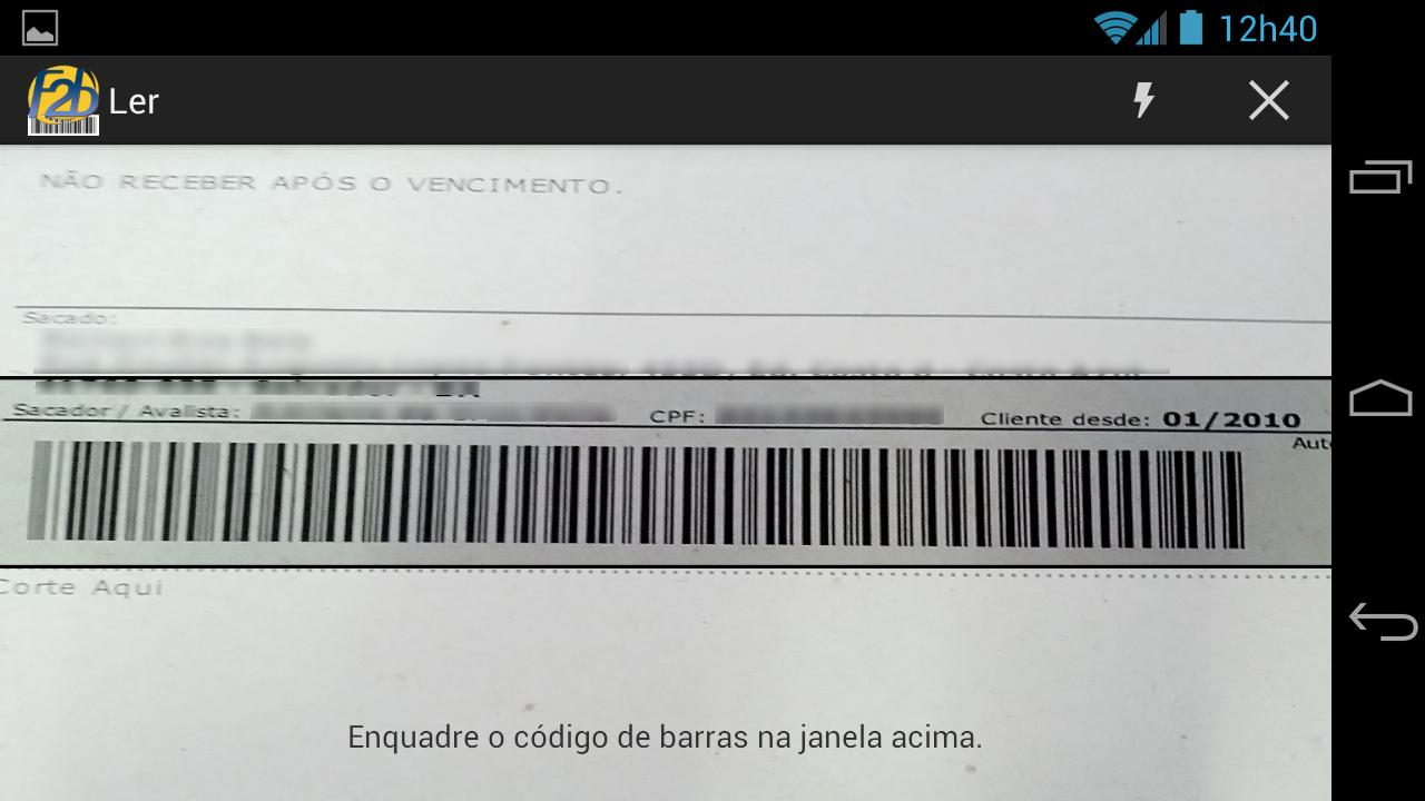 F2b Reader- screenshot
