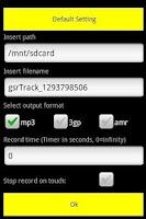Screenshot of Ghost Spy Recorder 1.0