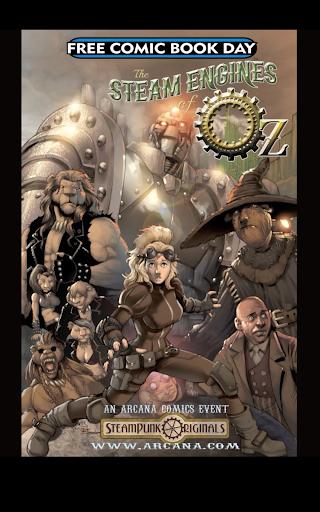 玩免費漫畫APP|下載The Steam Engine of Oz app不用錢|硬是要APP