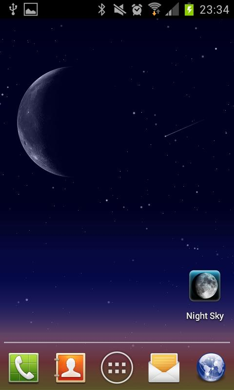 Night Sky LITE Live Wallpaper - screenshot