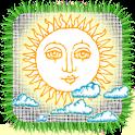 Folk calendar icon