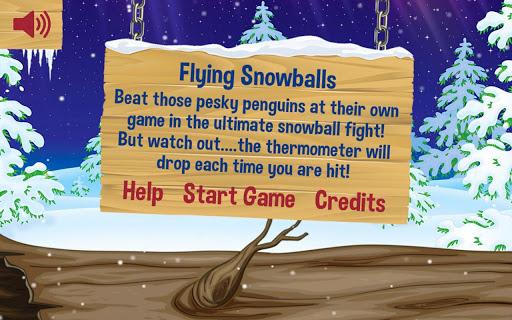 Flying Snowballs