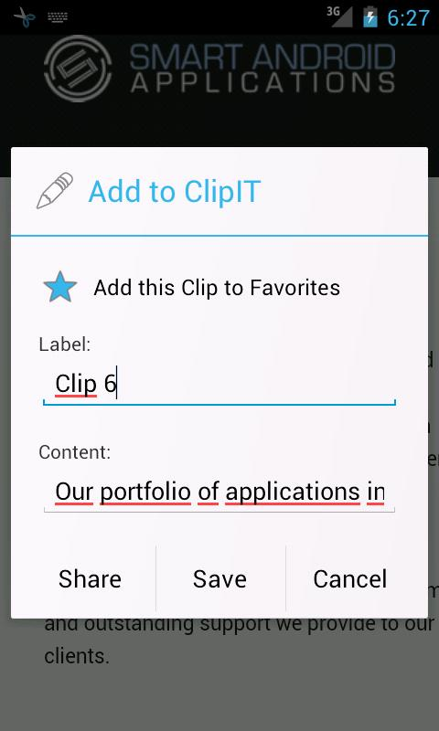 ClipIT Unlock Key - screenshot