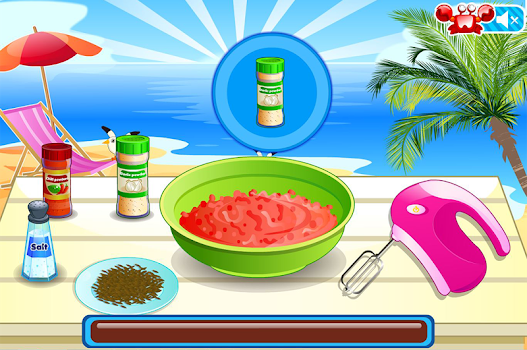 Mini Burgers, Cooking Games